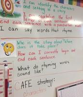 Learning Targets in Kinder