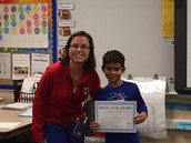 Rising Star in Mrs. Parker's Class!