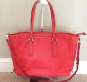 Madison Tech Bag - Poppy - $65
