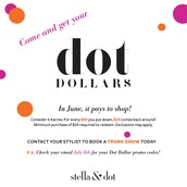 In June, it definitley paid to shop. Now, reward yourself and redeem your Dot Dollars in July.