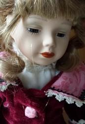 Fine ceramic doll for doll collectors