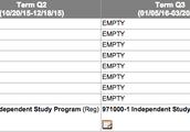 Independent Study Schedule
