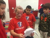 Older Patriots Share and Teach the Younger Patriots