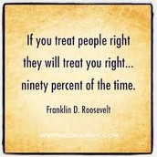 Treat people right