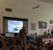 Steve Swinburne Author Visit