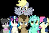 Fan ponies!