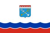 Flag of Leningrad region.