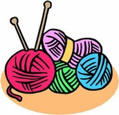Knitting 101, you will learn how to: