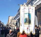 "parade of ""madonna della fontana"""