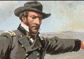 Sherman Leading His Men