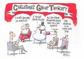 Even Santa Needs Therapy
