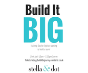 TODAY IS THE LAST DAY TO BOOK FOR BUILD IT BIG!
