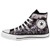 Los zapatos gris