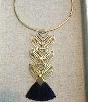 Aida Tassel Pendant $98 - sample price $50