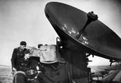 Radar used to detect aircraft