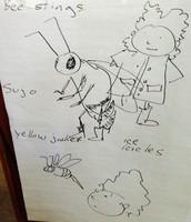C. Denise Illustration based on school brainstorming