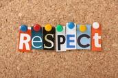 Respect them