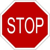 Things to STOP: