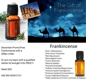 Frankincense.... The king of oils