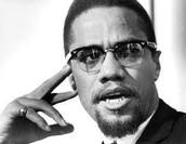 Malcolm X Focused