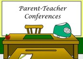 1st Quarter Report Cards Received at Parent Teacher Conferences for Heritage Elementary School
