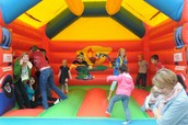 $5.00 all day Bounce houses