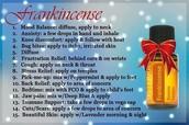 Frankincense:  Liquid Gold!