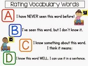 Use it to check on vocabulary