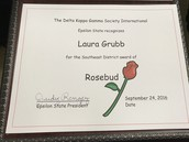 Our very own Rosebud!