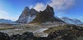 barren landscape of Iceland
