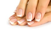French Manicure - Gel Overlays