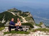 Hiking Unterberg in Austria