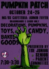 Junior and Senior Parent Committee's Annual Pumpkin Patch
