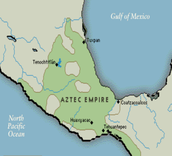 Where the Aztecs lived