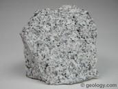 igneous rock : granite