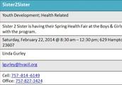 Sister2Sister Health Fair