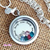 Twist Living Locket with In{script}ion and Swarovski charms!