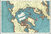 Map of the artic