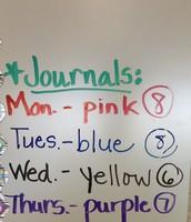 Managing Student Journals