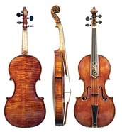 Violin from the Baroque era