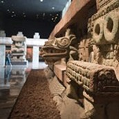 Mexico's national museum of Anthropology
