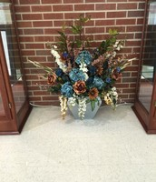 Silk Front Office Arrangement