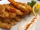 king crab leg tempura