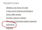 Student Links Page