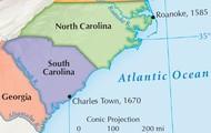North and South Carolina