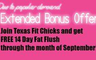 Join in September, Get a FREE Meal Plan!
