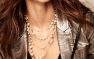 Madeline Pearl Necklace-Silver