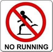 A nosotros no nos gusta correr