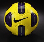 Colourful football options for colours also available