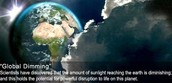 12. What is global dimming? Where does it usually affect and why is it a problem?